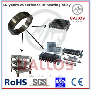 0cr27al7mo2 Alloy Material Electric Heating Resistance Flat pictures & photos