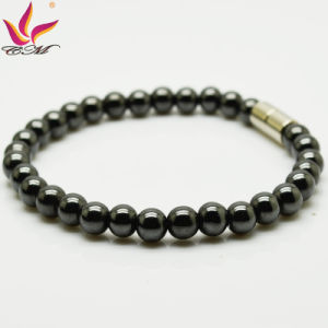 Htb005A Cool Men Jewelry Hematite Bead Energy Bracelet pictures & photos