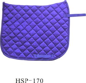 T/C Square Diamond Quilted Dressage Saddle Pad (HSP-170) pictures & photos