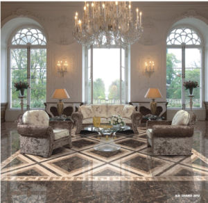 Flooring Porcelain Polished Copy Marble Glazed Floor Tiles (PK6187) pictures & photos