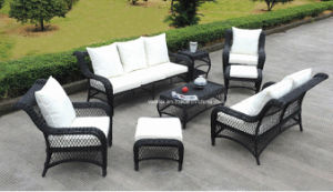 En Syntheticgard Rattan Furniture Set Garden Chair pictures & photos