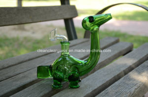Top Sale USA Colored Material Cute Dinosaur Glass Water Pipe Smoking Pipe Oil Rig with 14.5mm Joint, for Wholesale pictures & photos