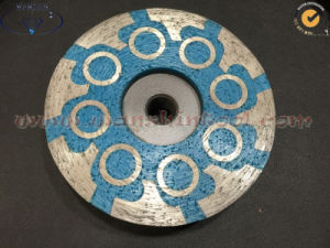 100mm Resin Filled Diamond Cup Wheel for Granite Concrete pictures & photos