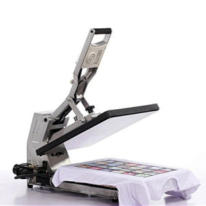 Large-Format Sublimation T Shirt Heat Press Transfer Printing Machine with Ce pictures & photos