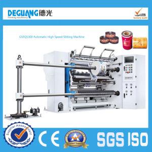 Automatic High Speed Slitting Machine Slitter Cutting Machine (GSFQ1300) pictures & photos
