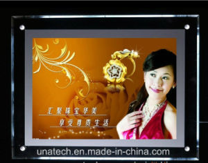 Wall Mounted LED Crystal Acrylic Light Box pictures & photos
