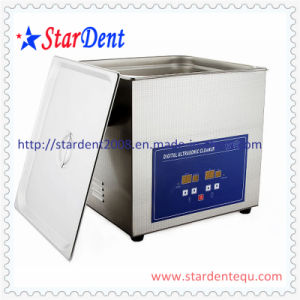 New Dental Product Stainless Steel Digital Tabletop Ultrasonic Cleaner (20L) pictures & photos
