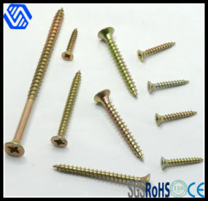 Wholesale Color-Zinc Plated Chipboard Screw pictures & photos