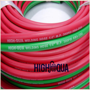 Rubber Air Inflate Hose Twin Welding Rubber Hose pictures & photos