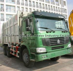 Garbage Truck 20M3 (ZZ3257N3847A) pictures & photos