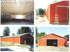 Steel Structure Storage House From Factory Direct Sale
