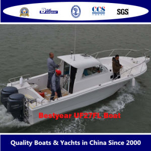 2015 Cabin Fishing Boat UF27fl Boat pictures & photos