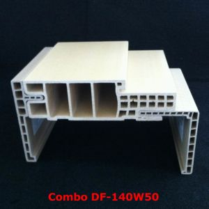 Combo WPC Door Frame Df-140W50 WPC Architrave Door Pocket PVC Foamed Door Frame pictures & photos