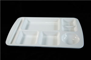 100%Melamine Dinnerware Melamine Plate/Tray with Compartment
