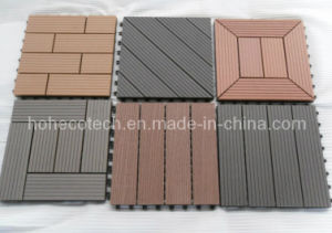 9 Models to Choose Wood Plastic Composite WPC Tiles Non-Slip (30S30) pictures & photos