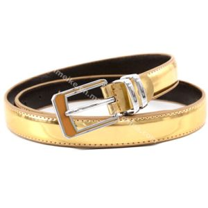 Candy Colors Ladies Skinny Belt Supplier pictures & photos