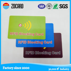 RFID Blocking Smart Credit Card Manufacturer pictures & photos