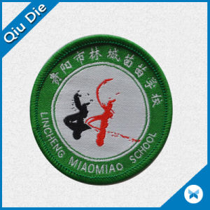 High Quality OEM Woven Label with Merrow for Promotion pictures & photos