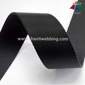 in Stock! 35mm Black Twill Nylon Webbing pictures & photos