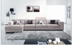 Furniture New Porduct Sectional Fabric Sofa (L. B1016) pictures & photos