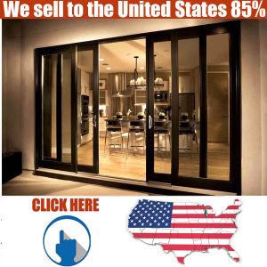Australian Standard Double Glazing Aluminum Sliding Exterior Door pictures & photos