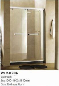 Hanging Shower Door Sliding Roller Shower Room pictures & photos