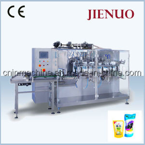 Horizontal Automatic Liquid Pouch Detergent Packing Machine pictures & photos