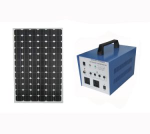 80W Solar AC Power System for Poor Electricity Area with Pure Sine Wave Inverter pictures & photos