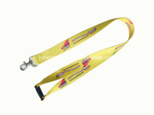 Promotion Gift Heat-Transfer Printing Nylon Lanyard with Logo pictures & photos