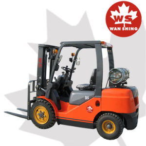 3500kg LPG Forklift with Nissan K25 Engine pictures & photos
