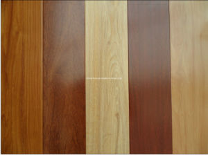 Foshan 12mm Embossed Cheap AC4 HDF Laminate Wood Flooring