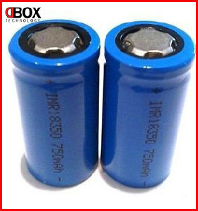 Dbox 2013 The Hottest Products, High Quality E-Cigarette 18350/18650 Battery