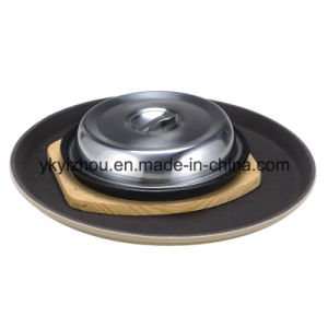 Fiberglass Non Slip Food Serving Tray for Hotel pictures & photos