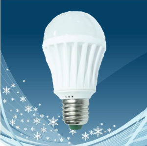 A60-2 Ceramic Body High Power LED Bulb (7W/5W)