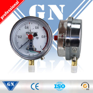 Cx-Pg-Sp Electric Contact Silicone Oil Filled Pressure Gauges (CX-PG-SP) pictures & photos