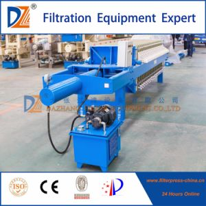Once Open Filter Press for Chemical Industry Wastewater Treatment pictures & photos