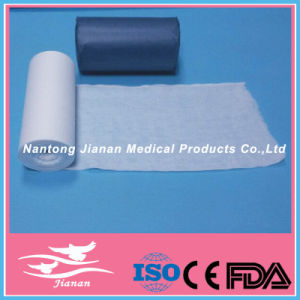 100% Cotton Absorbent Gauze Roll, 1500g/Roll, with CE and ISO 13485