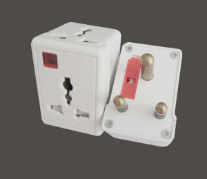 UK Standard 3 Round Pin 15A Travel Adaptor pictures & photos