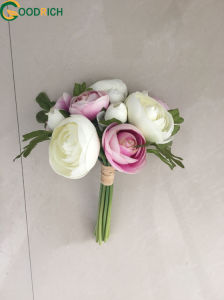 Popular Artificial Flower Bouquet in Many Colours pictures & photos