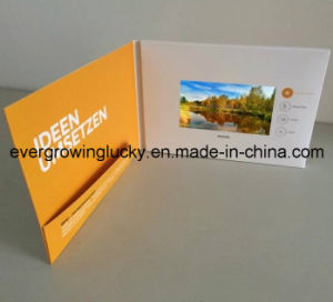 5.0inch LCD Video Business Invitation Brochure pictures & photos