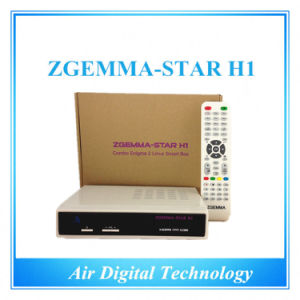 DVB-S2 DVB-C Model Zgemma Star H1 with Twin Tuner Best HD Satellite Receiver pictures & photos