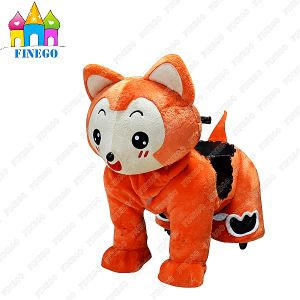 Plush Battery Motorized Coin Operated Kids Scotter Riding Walking Animal pictures & photos