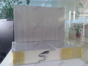 Prefabricated Building Material EPS/PU/Mineral Wool Sandwich Panel pictures & photos