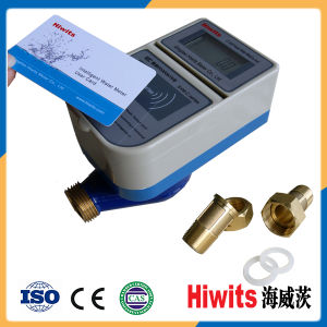 Hot Digital Remote Reading Intelligent IC Card Prepaid Water Meter pictures & photos