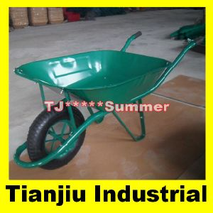 65L Heavy Duty Wheelbarrow Wheel Barrow Wb6400 pictures & photos