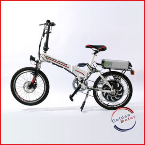 CE Approved Folding Electric Bike/Hub Motor Electric Bicycle (FEB-600) pictures & photos