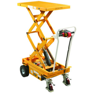 Self-Propelled Lift Table - Des Series pictures & photos
