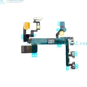 Mobile Phone Power Mute Volume Flex Cable for iPhone 5s pictures & photos