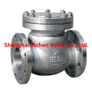 Spring Brass Flange Check Valve (H44T) pictures & photos