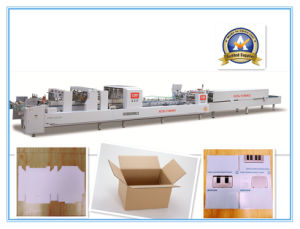 Xcs-1100 Efficiency Paper Box Folder Gluer pictures & photos